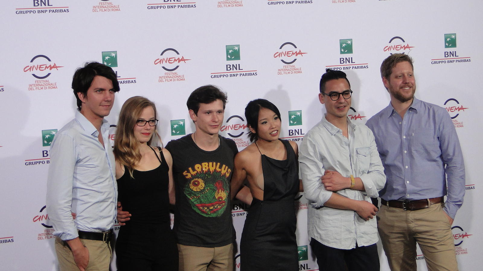 Roma 2014: uno scatto dal photocall di We are Young. We are Strong