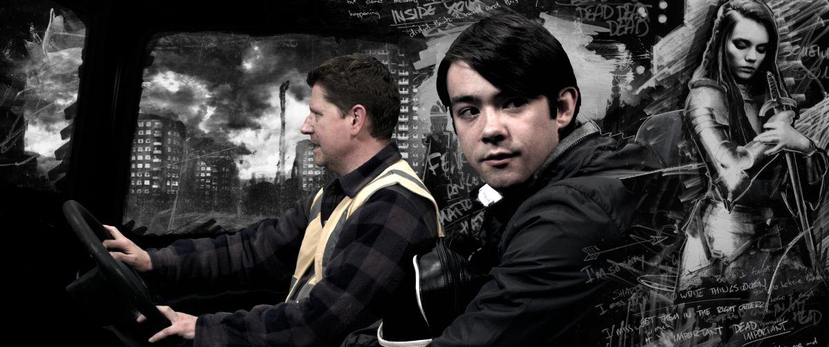 The Knife That Killed Me: Jack McMullen nel ruolo di Paul in una scena del film