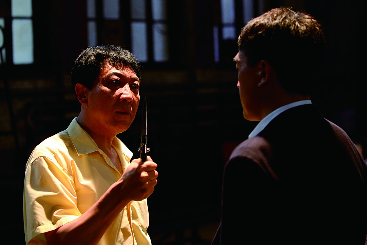 12 Citizens: Han Tongsheng in una scena del film