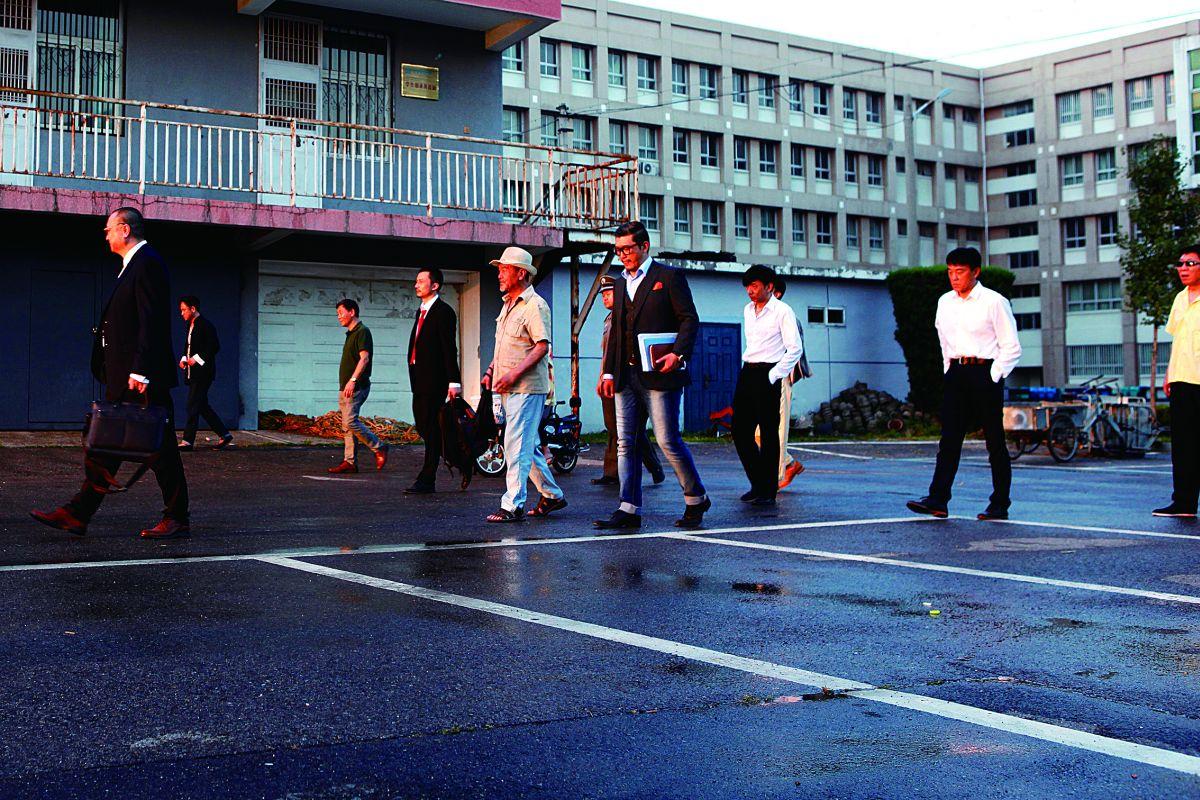 Un'immagine tratta dal film 12 Citizens