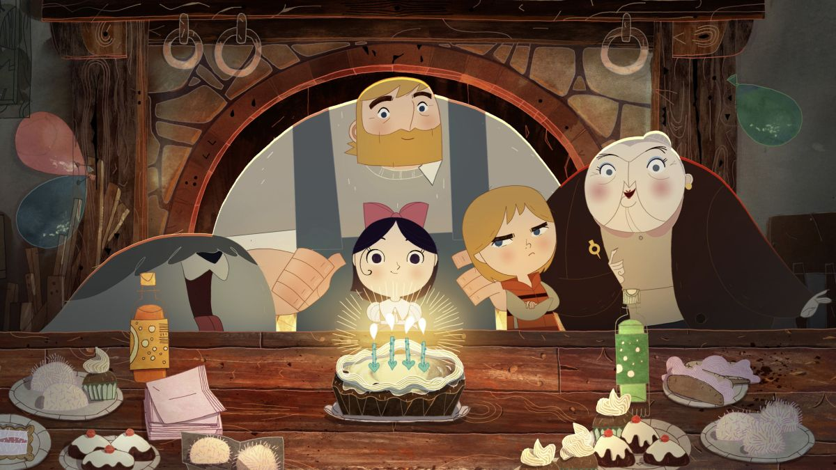 Song Of The Sea: festeggiamenti di compleanno in una scena del film animato