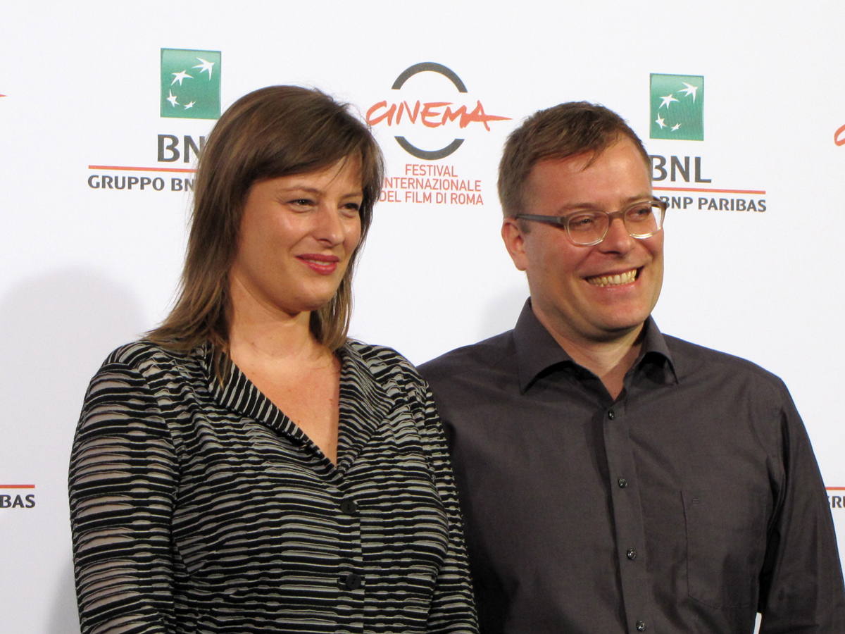 The Lies of the Victors - il regista e la produttrice al Festival di Roma 2014
