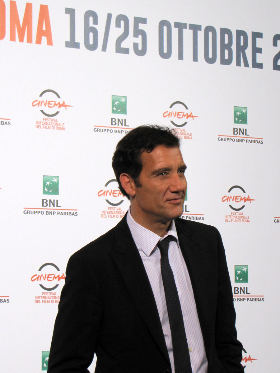 Clive Owen a Roma 2014 per la serie tv The Knick