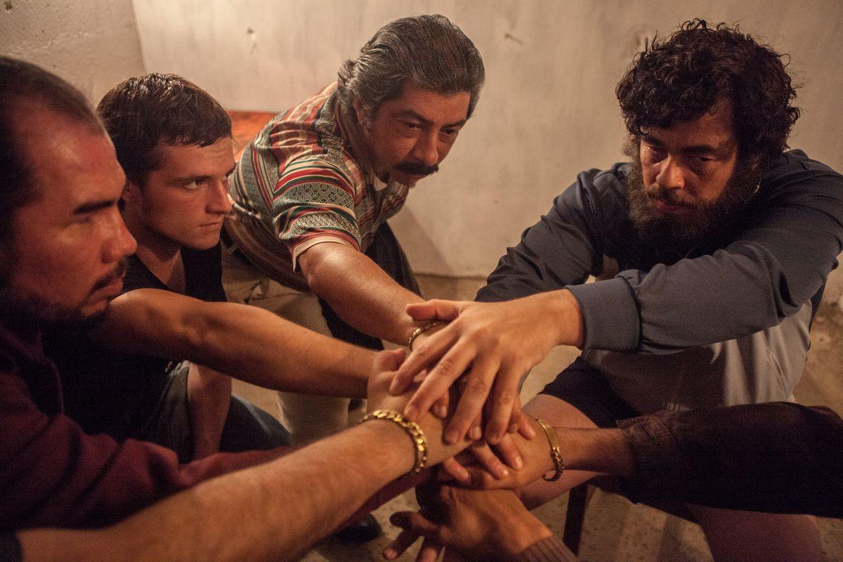 Escobar: Paradise Lost, Benicio Del Toro in un'immagine del film