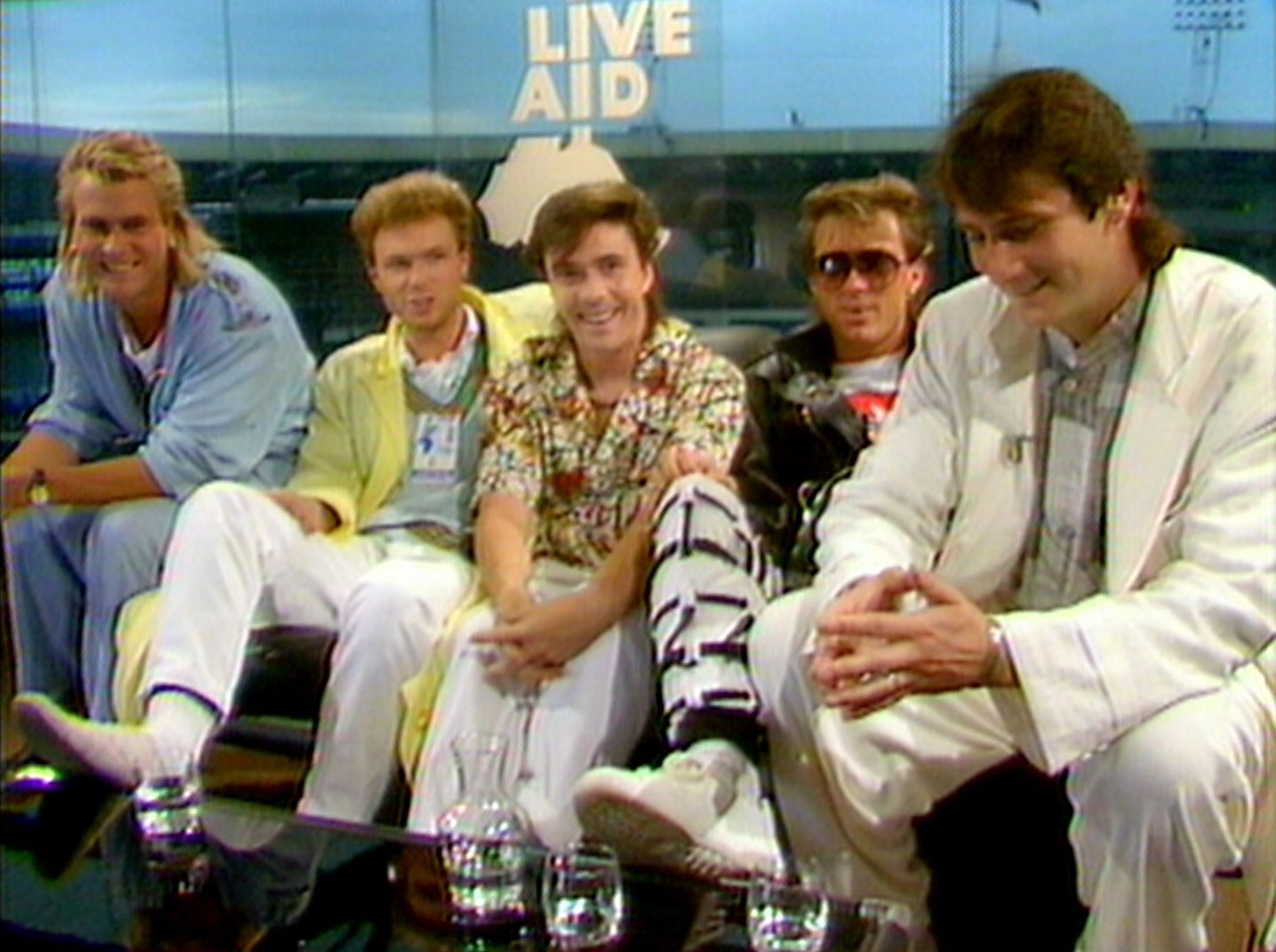 SPANDAU BALLET - Il Film - Soul Boys of the Western World: gli Spandau Ballet intervistati durante il Live Aid
