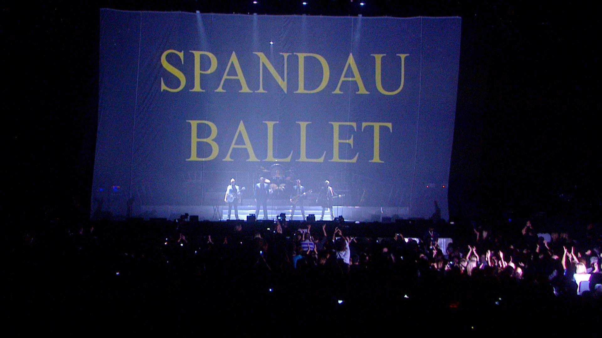 SPANDAU BALLET - Il Film - Soul Boys of the Western World: una scena del documentario