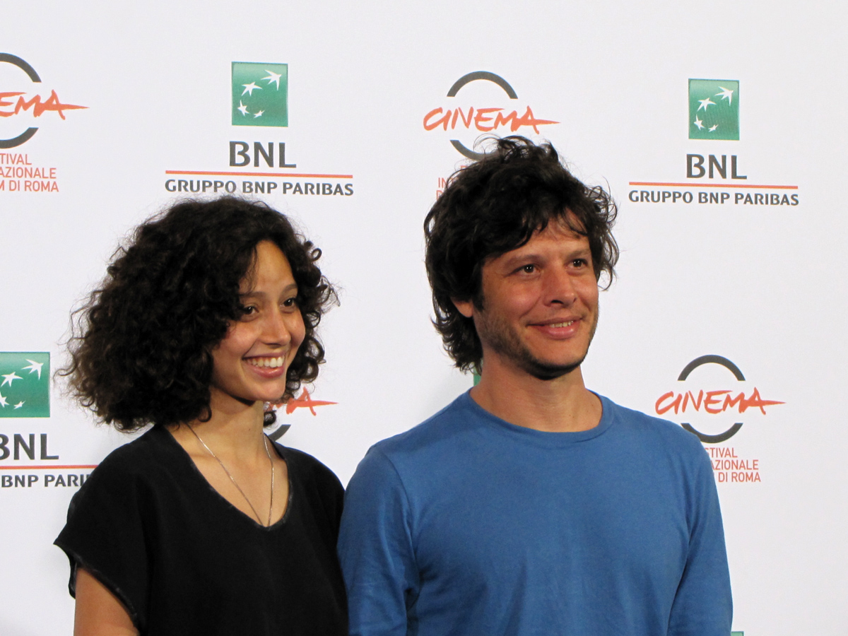 Lulu al Festival di Roma 2014: Luis Ortega con Ailin Salas