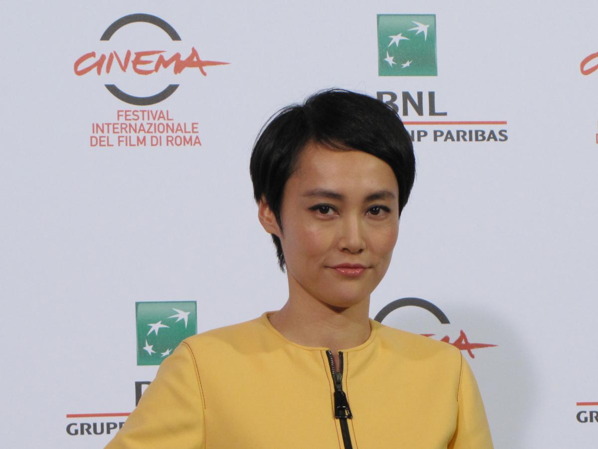 L'attrice Rinko Kikuchi presenta Last Summer al Festival di Roma 2014