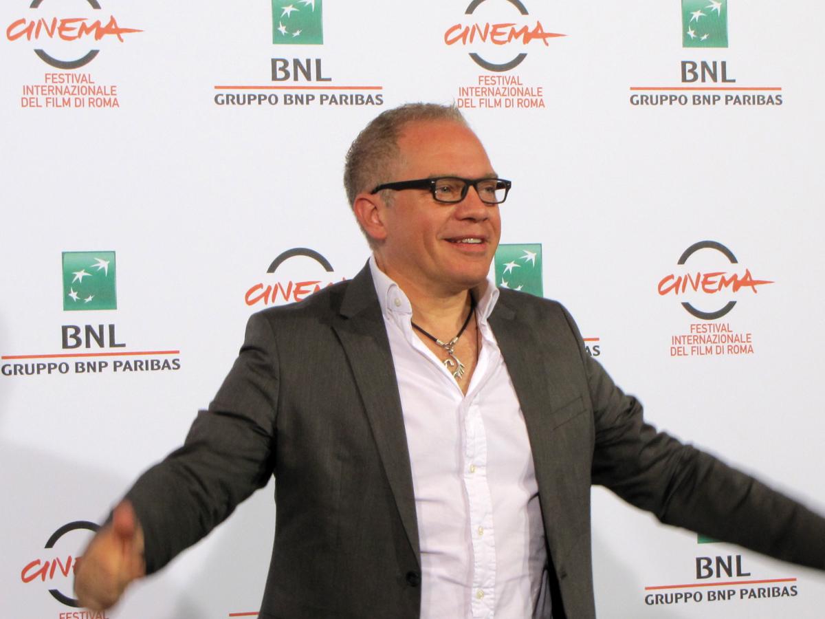 Marco Marzocca interprete di 'Buoni a nulla' al Festival di Roma 2014: