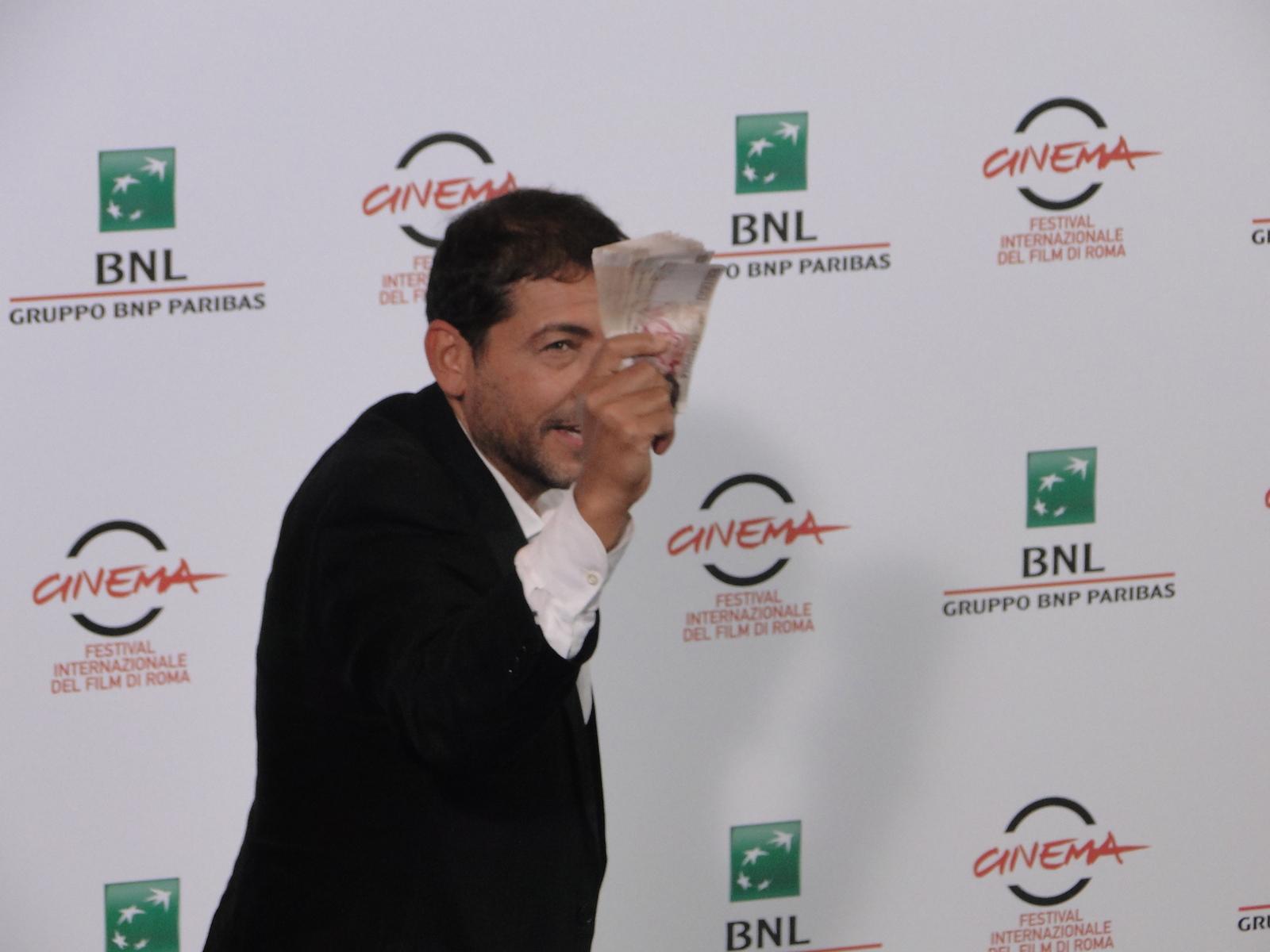 I milionari: il regista Alessandro Piva al photocall di Roma 2014