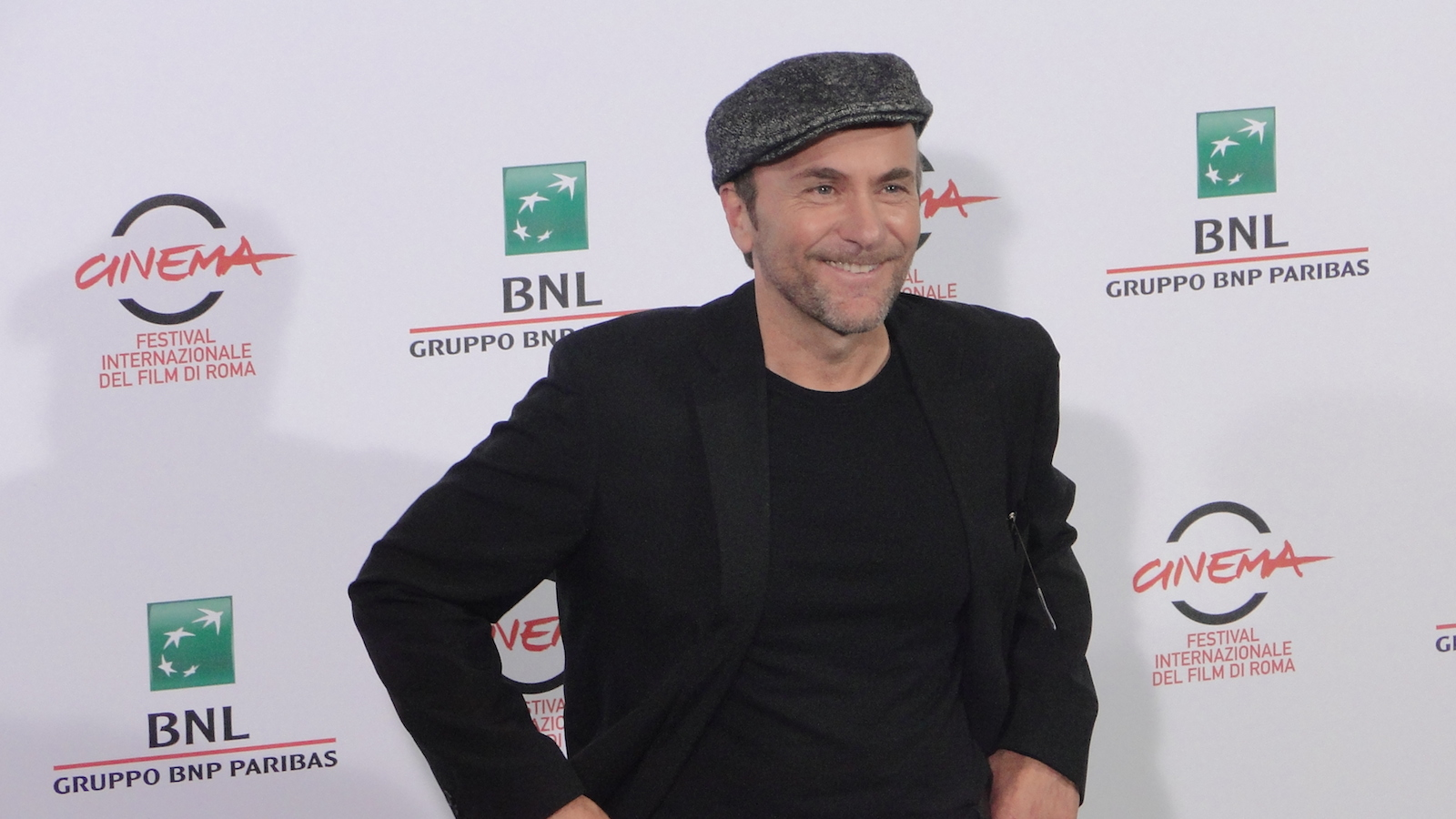 I milionari: Gianfranco Gallo posa al photocall di Roma 2014