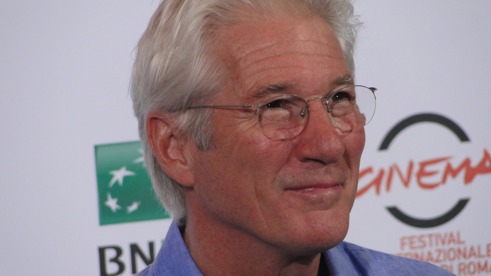 Richard Gere a Roma 2014 per Time Out of Mind