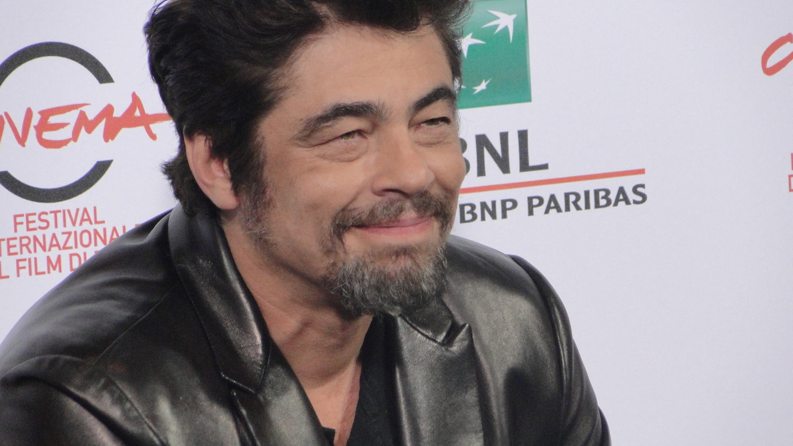Roma 2014: Benicio Del Toro al photocall di Escobar: Paradise Lost