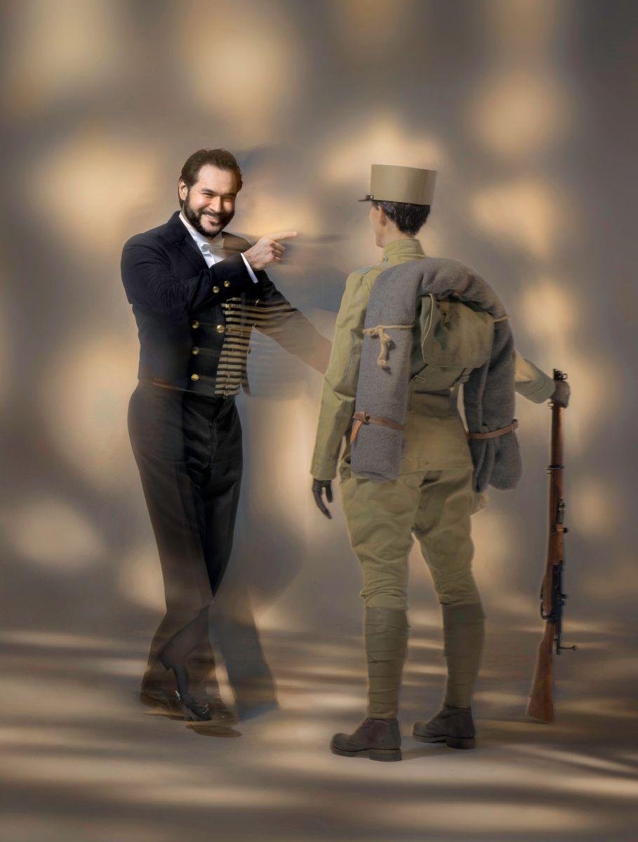 Le nozze di Figaro: Ildar Abdrazakov in un'immagine tratta dallo spettacolo live del Metropolitan Opera di New York