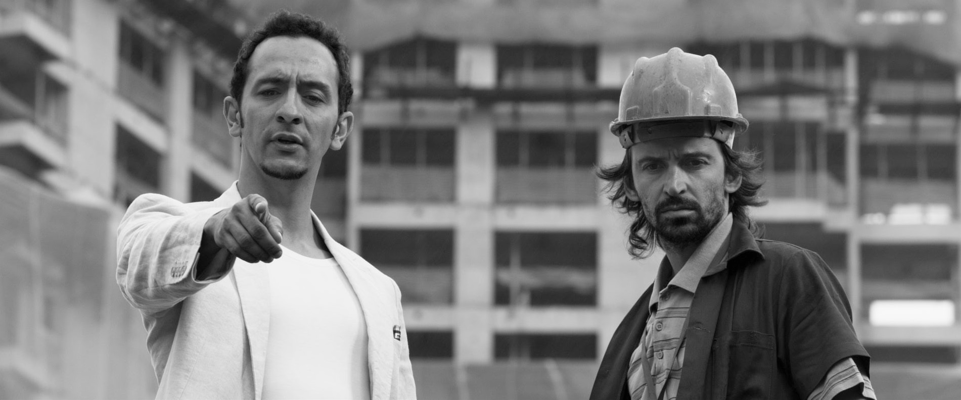 Obra: Irandhir Santos con Júlio Andrade in una scena del film