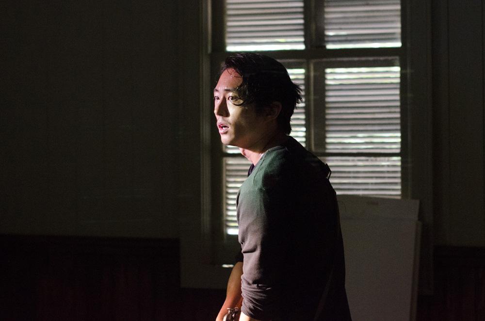 The Walking Dead: l'attore Steven Yeun in Strangers
