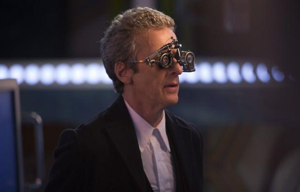 Doctor Who: l'attore Peter Capaldi nell'episodio intitolato Flatline