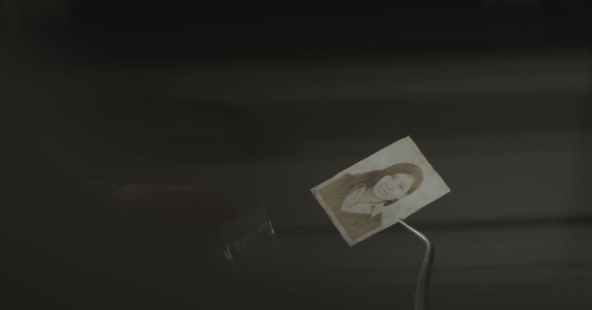 NN: ritrovamento di reperti in una scena del film