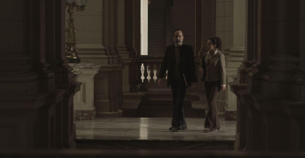 NN: Paul Vega insieme a Isabel Gaona in una scena