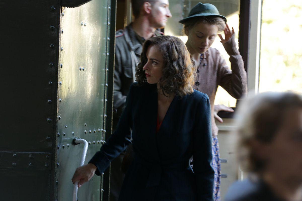 Phoenix: Nina Hoss in una scena del film