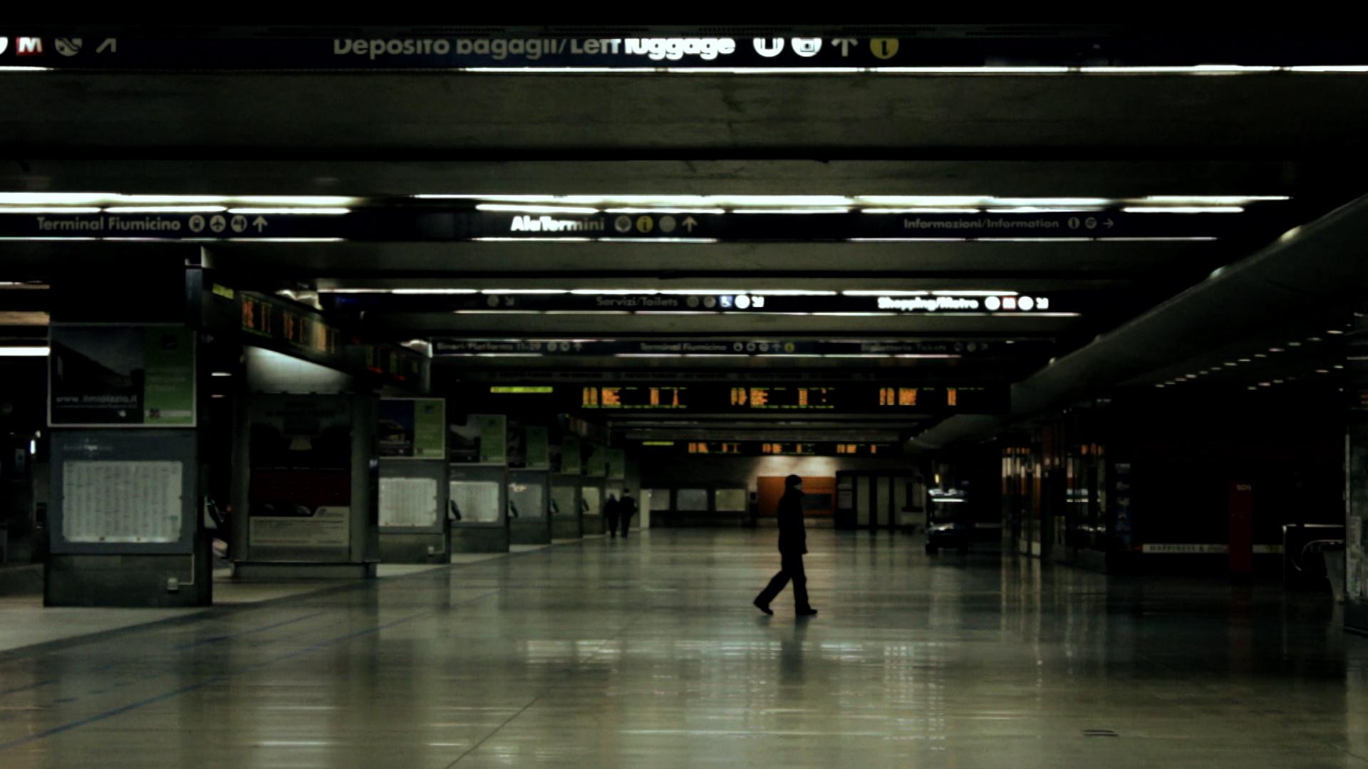 Roma Termini: una scena del film diretto da Bartolomeo Pampaloni