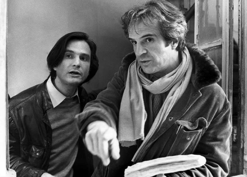 François Truffaut con Jean Pierre Léaud