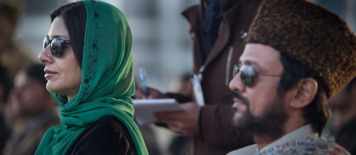 Haider: Tabu in una scena del film