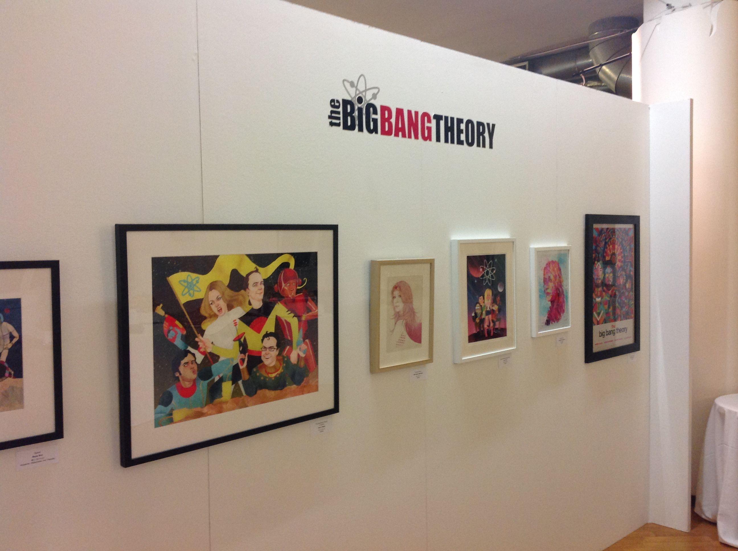 La mostra milanese di The Big Bang Theory