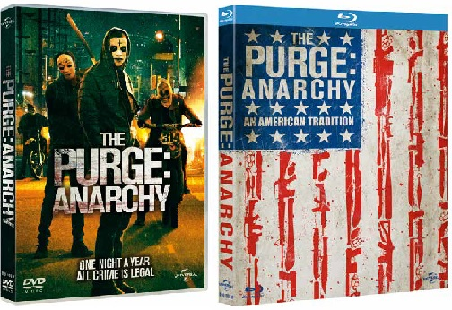 le cover homevideo di Anarchia - La notte del giudizio