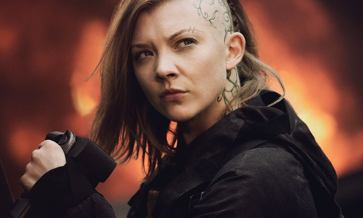 Hunger Games: Il canto della rivolta - Parte I, Natalie Dormer in una scena
