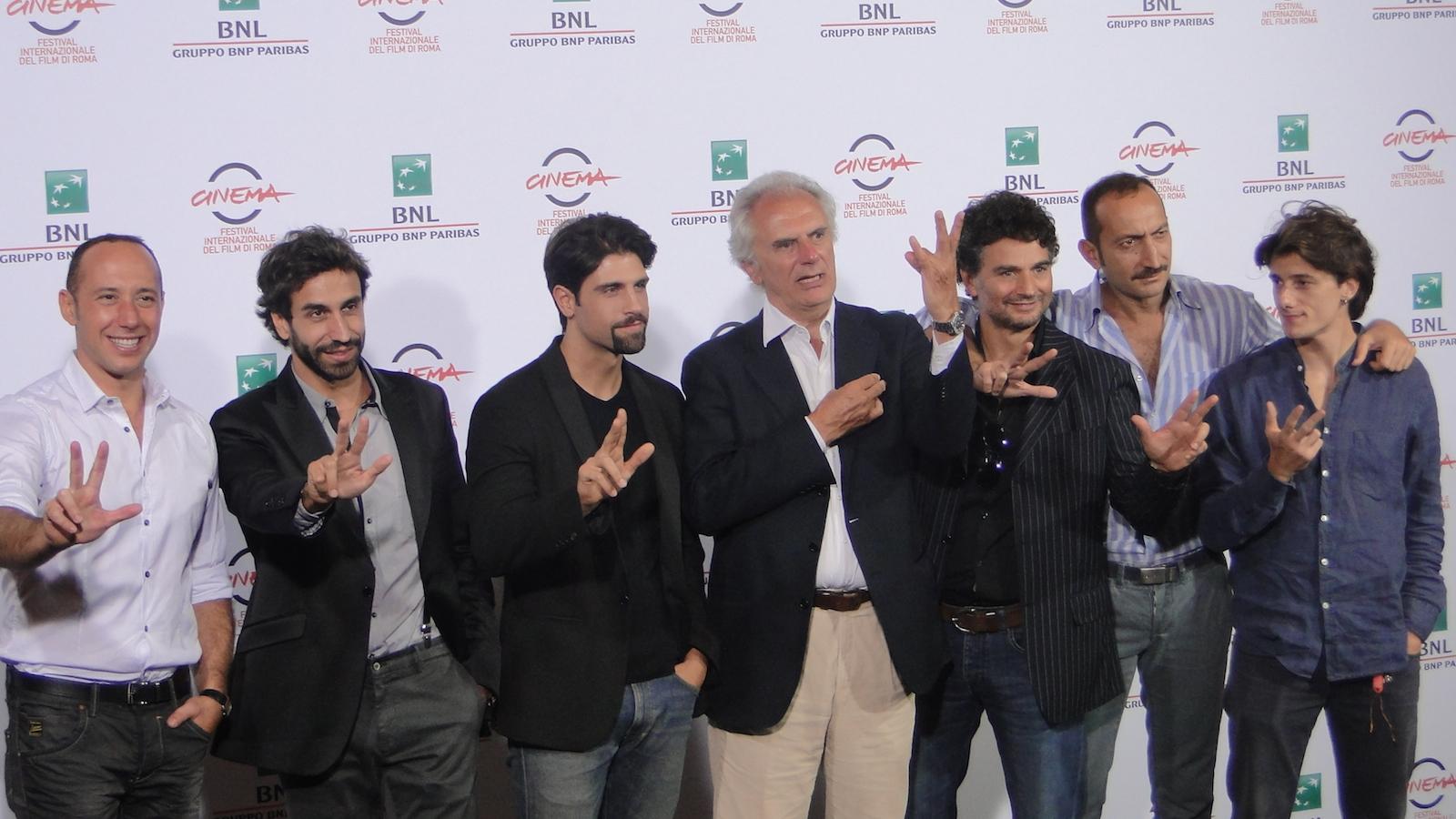 Tre tocchi: il cast al photocall di Roma 2014