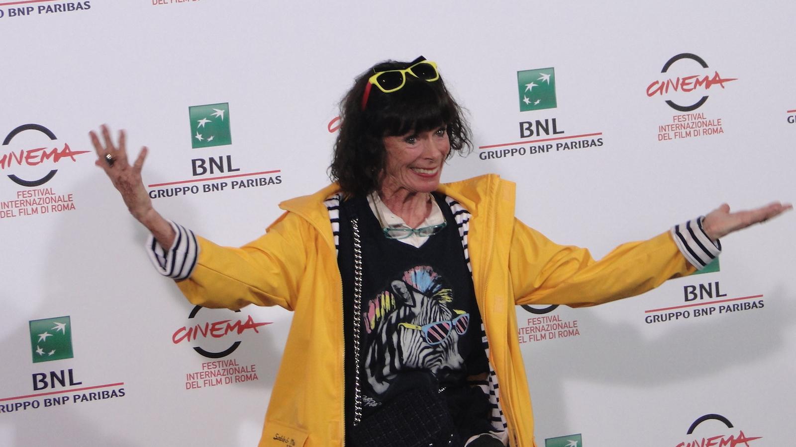 Roma 2014: Geraldine Chaplin posa al photocall di Sand Dollars