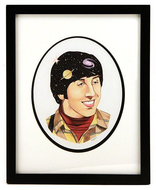 La mostra milanese di The Big Bang Theory: Howard Wolowitz visto da Ryan Berkley