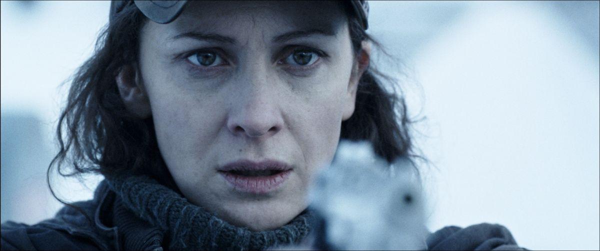 La foresta di ghiaccio: Ksenia Rappoport in una scena del film