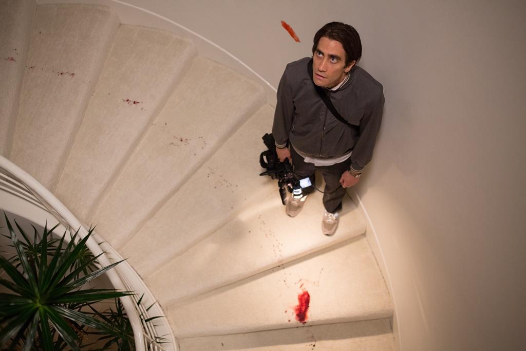 Lo Sciacallo - Nightcrawler: Jake Gyllenhaal nei panni del reporter freelance senza scrupoli in una scena del film