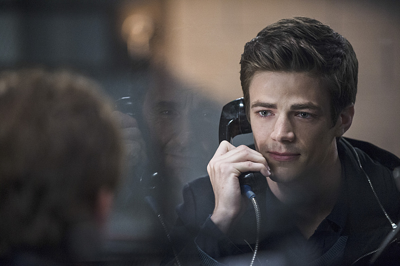 The Flash: Grant Gustin nella puntata The Things You Can't Outrun