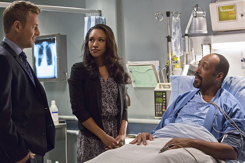 The Flash: Rick Cosnett, Candice Patton e Jesse L. Martin in Things You Can't Outrun