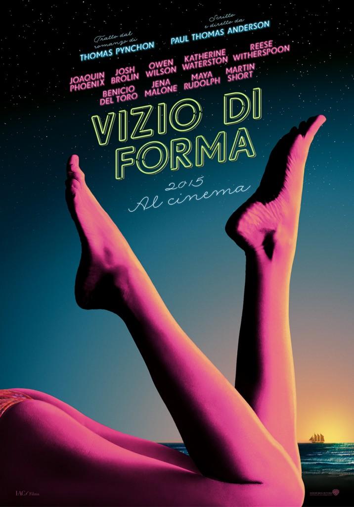 Locandina italiana di 'Vizio di forma'