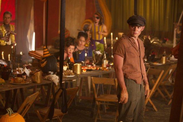 Evan Peters nell'episodio 'Edward Mordrake' American Horror Story - Freakshow