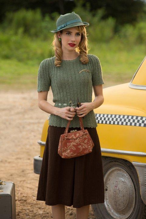 Emma Roberts è Esmerelda in 'Edward Mordrake' episodio di American Horror Story - Freakshow