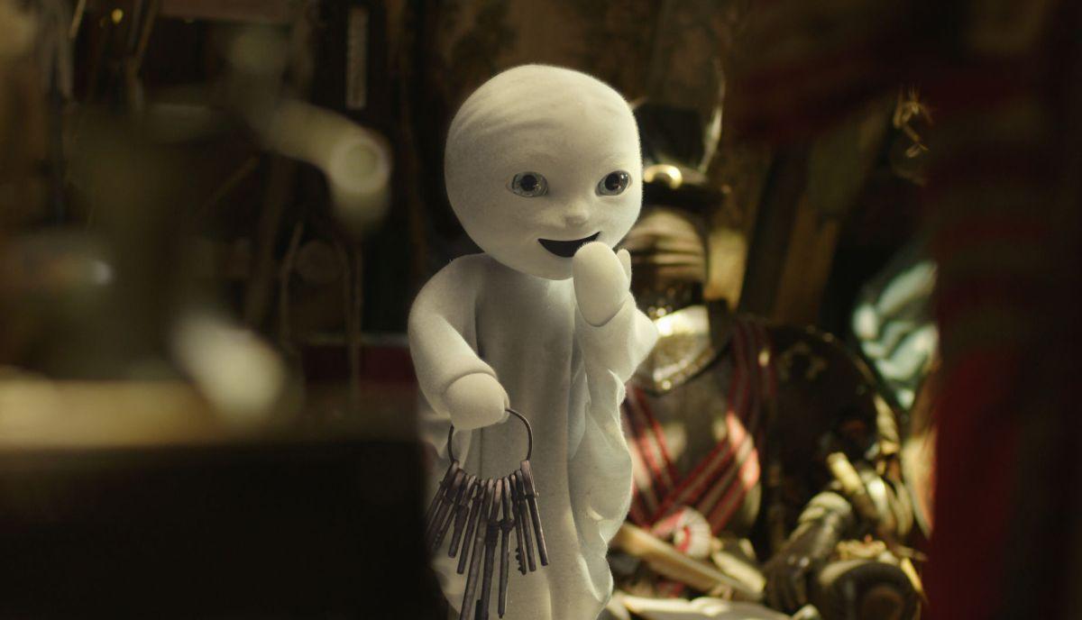 Un fantasma per amico: il dispettoso fantasmino protagonista del film in una scena
