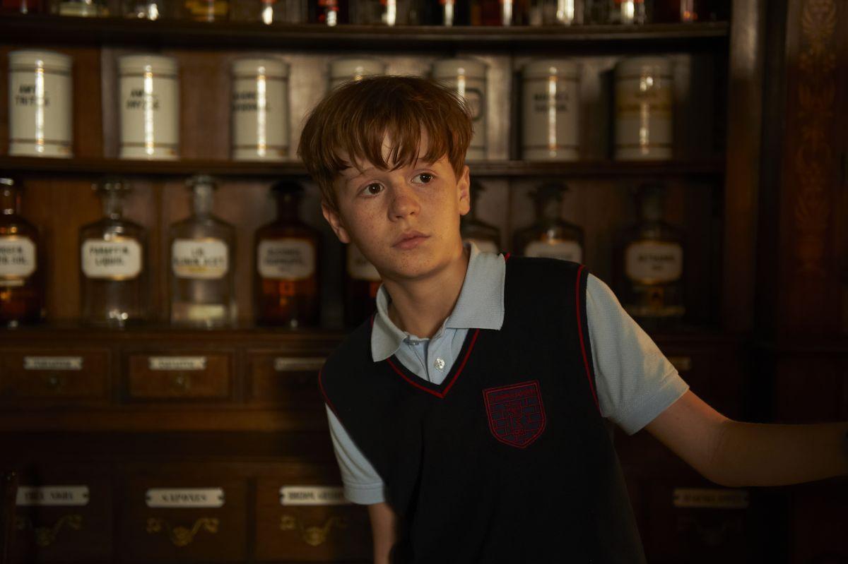 Un fantasma per amico: Jonas Holdenrieder in un'immagine del film