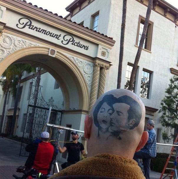 Zeroville: James Franco con il cranio rasato e tatuato entra negli studi di Paramonut