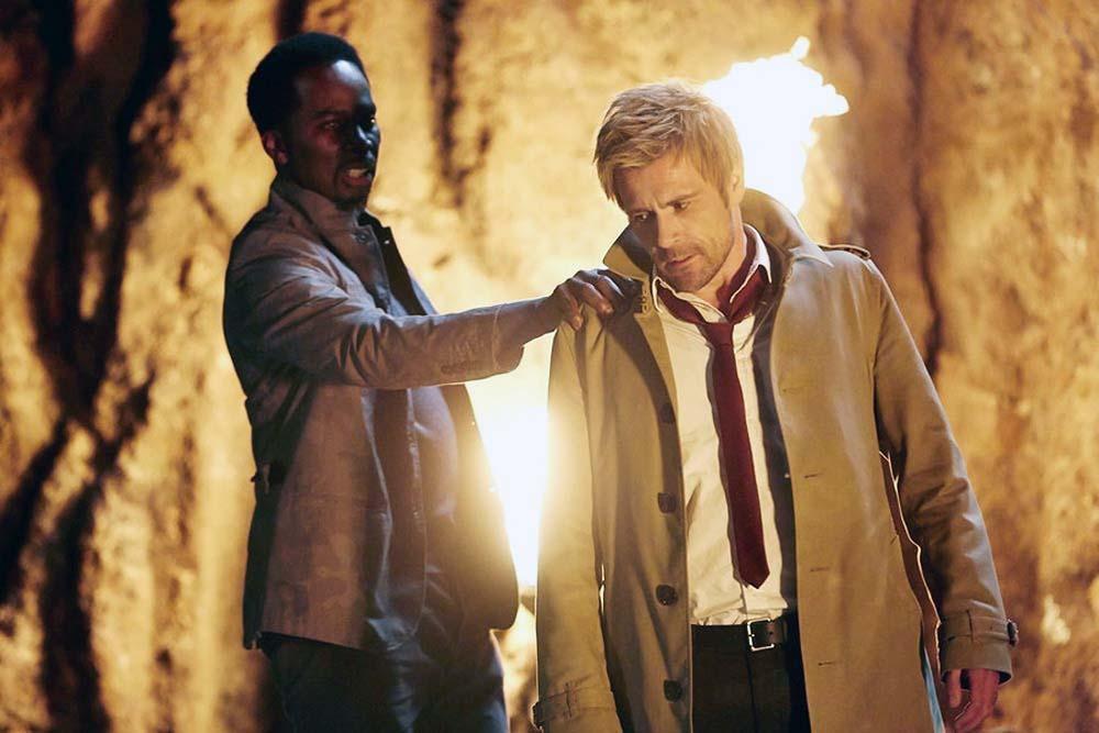 Constantine: Harold Perrineau e Matt Ryan nella puntata Pilot