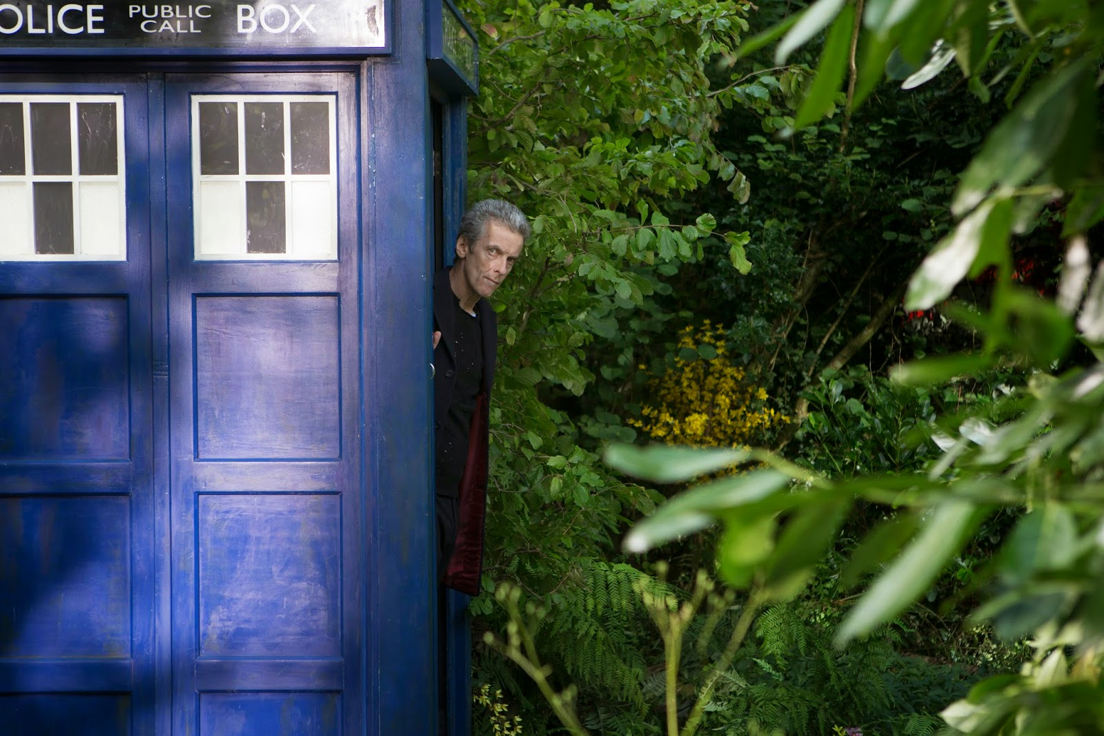 Doctor Who: Peter Capaldi nell'episodio In The Forest Of The Night