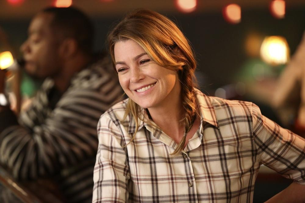 Grey's Anatomy: l'attrice Ellen Pompeo in una scena di Bend or Break