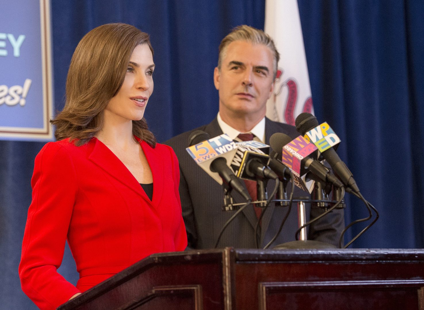 The Good Wife: Julianna Margulies e Chris Noth in Shiny Objects
