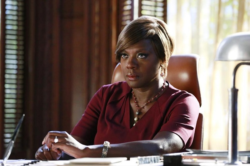 Hot To Get Away With Murder: l'attrice Viola Davis nella puntata intitolata We're Not Friends