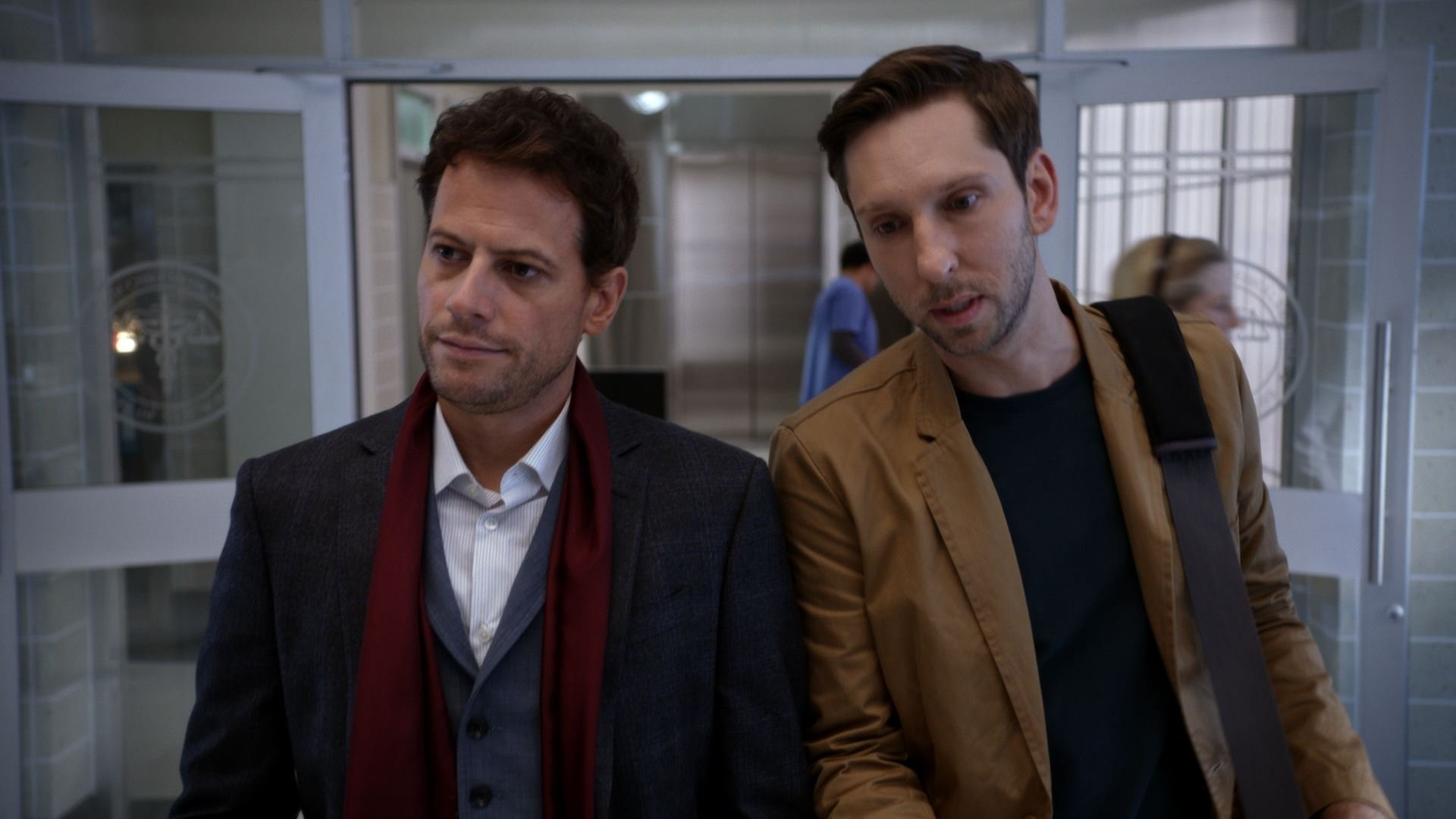 Forever: Ioan Gruffudd in una scena dell'episodio The Frustrating Thing About Psychopaths