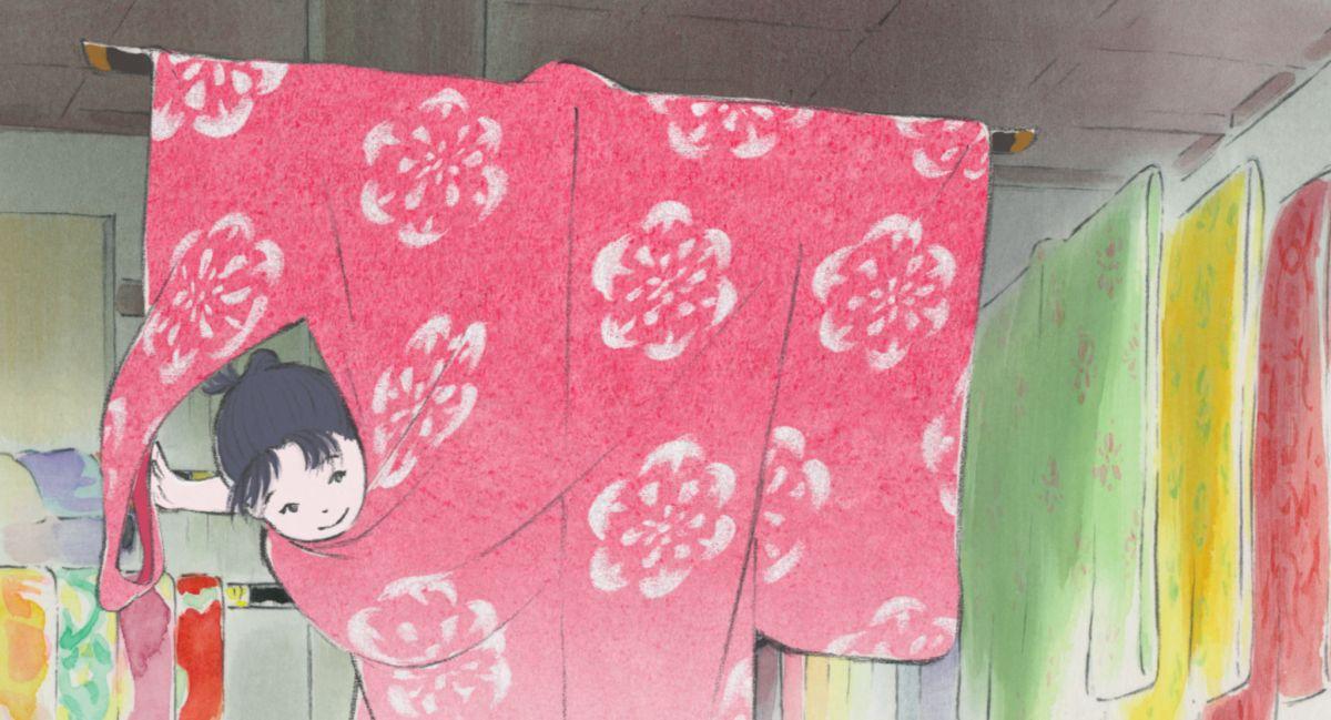 La Storia della Principessa Splendente: una scena del film d'animazione diretto da di Isao Takahata